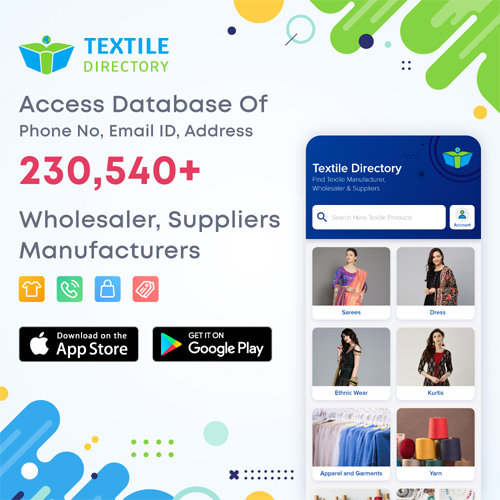 Buy Textile Directory of India with all India Textile Database in