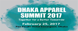 Dhaka Apparel Summit 2017 Bangladesh - dhaka