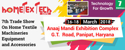 Hometex Tech Expo 2018 Panipat - Panipat