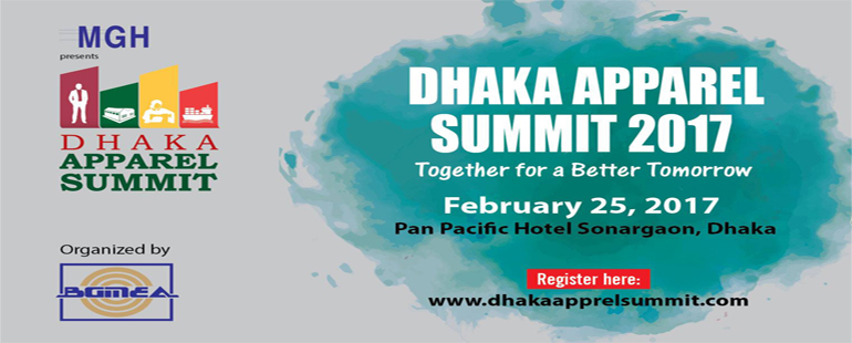 Dhaka Apparel Summit 2017 Bangladesh