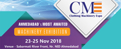 Clothing Machinery Expo 2018