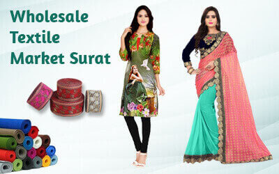 Textile market in India, Wholesale cloth, saree, dress