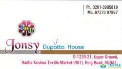 Jonsy Dupatta House logo icon