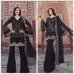 Georgette Palazzo Suit