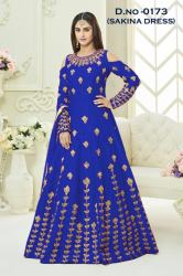 Bullet Royal Blue Gown