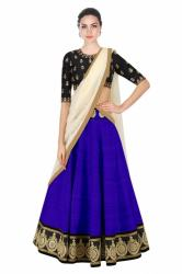 Kavya Royal Blue Lehenga