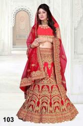 Red Bridal Lehenga2