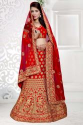 Red Bridal Lehenga8