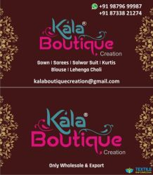 kala boutique creation logo icon