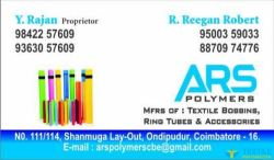 ARS POLYMERS logo icon