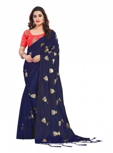 Fancy Georgette Saree - Golden Bell by Destiny Fashion Hub