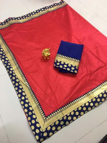 Tim Tim Silk Saree by Q And Q Creation