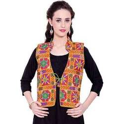 Ladies Cotton Kutch Work Jacket
