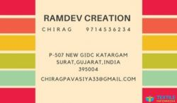 Ramdev Creation logo icon