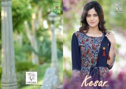 14 KG Heavy rayon Printed Kurti By ladyview