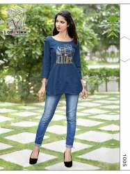 Designer Denim Tops by Ladyview
