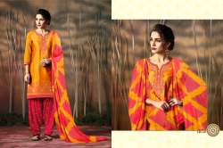 Designer Embroidered Patiyala Suit with Dupatta