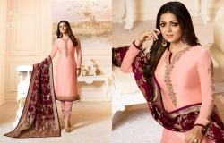 Designer Embroidered Straight Suit0