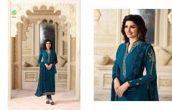 Designer Embroidered Straight Suit10