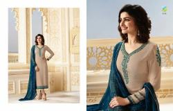 Designer Embroidered Straight Suit13