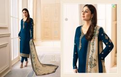 Designer Embroidered Straight Suit16
