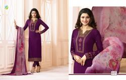 Designer Embroidered Straight Suit7