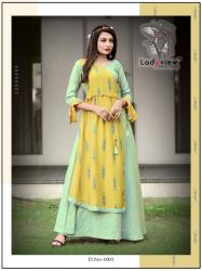 Designer Long Ethnic Gown By Ladyview0