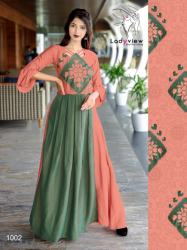 Designer Long Ethnic Gown By Ladyview1