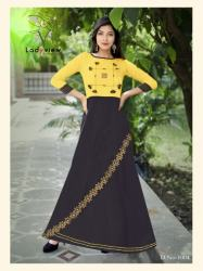 Designer Long Ethnic Gown By Ladyview3