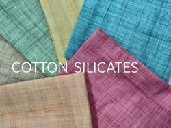 COTTON SILICATES  FABRIC .