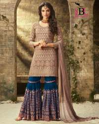 Mohini Georgette Plazo Suit