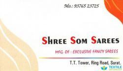 Shree Som Sarees logo icon