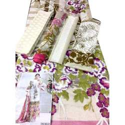 ladies printed dress material