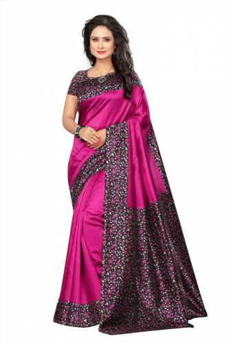KRISHNA SAREE Cotton Silk Saree (Set-02)