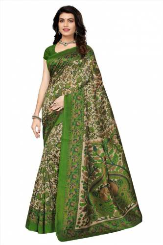 KRISHNA SAREE Cotton Silk Saree (Set-03)