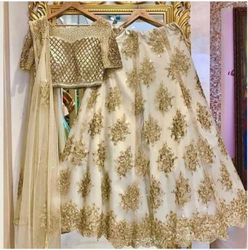 Designer lehenga by Happy Designs