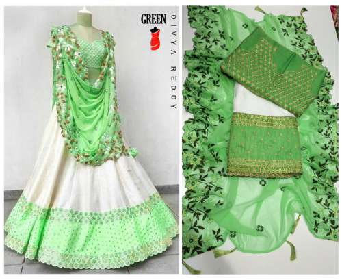 Divya  readymade  lehengha choli by Happy Designs