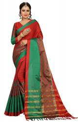 Exclude Cotton Jacquard Sarees