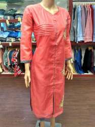 ladies formal kurti 01