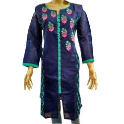 Party Wear purple Kurti