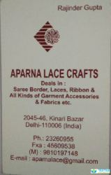 Aparna Lace Crafts logo icon