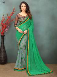 Fancy Georgette Saree From Surati Fabric