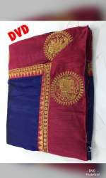 Women's Embroidery Silk Saree