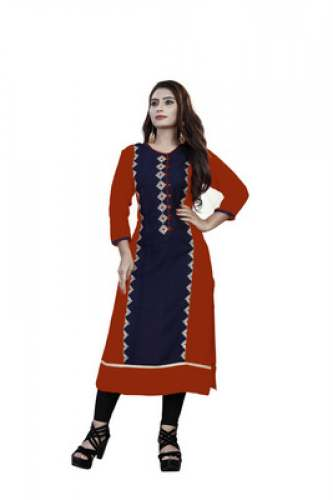 Embroidery  Rayon Kurti by Sheqe Fashion