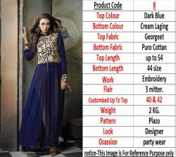 46098cb09 Gowns Manufacturers   suppliers in Surat