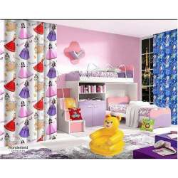 kids printed curtain fabric