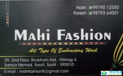 Mahi Fashion logo icon