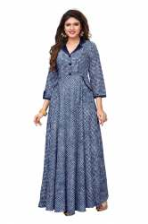 Casual Wear Ladies Gown