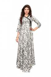 Heavy Rayon Gown Style Kurtis