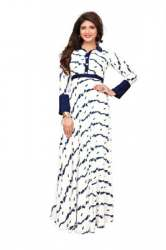 Long Gown Style Rayon Kurtis